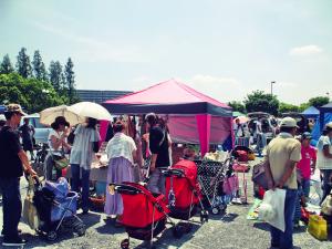 鶴見緑地フリーマーケット