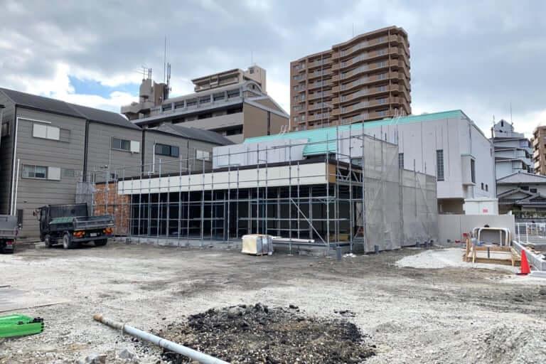 【鶴見区】鶴見2丁目に、コンビニエンスストアのような工事現場が!?